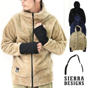 フリース ボアジャケット メンズ レディース シェラデザイン SIERRA DESIGNS  フリースジャケット キャンプ 冬キャンプ protocol