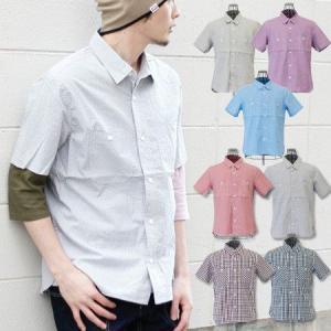 シャツ 半袖 メンズ folie ショートスリーブワークポケットシャツ|protocol