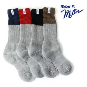 アウトドアブランド 靴下  メンズ ブランド ロバート ピー ミラー Robert P.Miller ソックス 314C キャンプ アウトドア|protocol