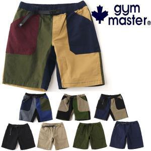 ショートパンツ ジムマスター パンツ メンズ レディース gym master ストレッチ ヘリンボーンベーカーショーツ g418642 protocol