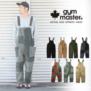 ジムマスター gym master ガーメントウォッシュ オーバーオール G757605 メンズ キャンプ アウトドア ファッション protocol