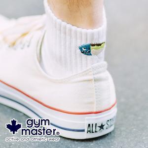 ジムマスター 靴下 gym master ハッピー刺繍ラインソックス G466624|protocol