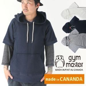ジムマスター パーカー カナダ メンズ gymmaster スウェット プルオーバー|protocol