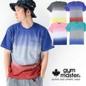 フェス Tシャツ ブランド メンズ ジムマスター 半袖 gym master グラデーション タイダイ 257617 キャンプ アウトドア ファッション 送料無料|protocol
