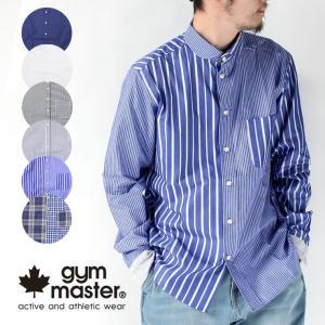 ジムマスター シャツ メンズ gym master 2WAY ショールカラー ロングスリーブ シャツ G399659|protocol