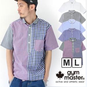 ジムマスター シャツ 2way メンズ gym master プルオーバー 半袖シャツ G943356|protocol