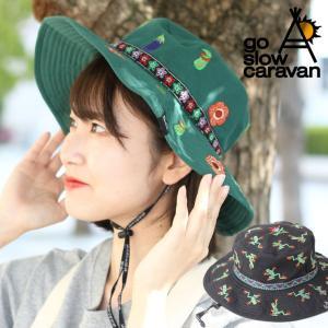 ハット 帽子 / go slow caravan ゴースローキャラバン メルトン刺繍 メトロハット / メンズ レディース 刺繍|protocol