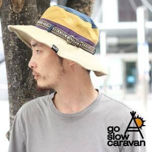フェス 帽子 メンズ ブランド レディース go slow caravan ゴースローキャラバン 382906|protocol