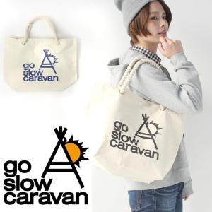 go slow caravan ゴースローキャラバン ロープハンドル トートバッグ|protocol
