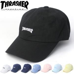 ローキャップ メンズ ブランド スラッシャー キャップ THRASHER 帽子 16TH-C25 レディース 春 夏 春夏 protocol