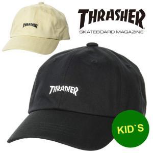 アウトドアブランド 帽子 キッズ ベビー スラッシャー キャップ THRASHER MAG LOGO 20TH-C08K|protocol