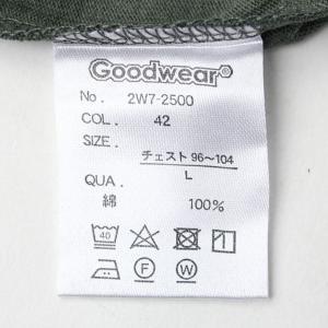 グッドウェア tシャツ メンズ 半袖 Goodwear USAコットン ポケット TEE 2W7-2500 春 夏 無地 定番 大きいサイズ 送料無料|protocol|02