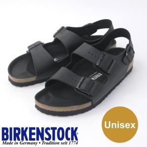 ビルケンシュトック ミラノ 黒 メンズ サンダル BIRKENSTOCK MILANO HEX GC1008075 ブラック|protocol
