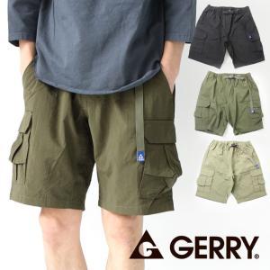ショートパンツ カーゴ 無地 GERRY ショート クライミングカーゴパンツ キャンプ 服装 メンズ アウトドア 膝上 protocol