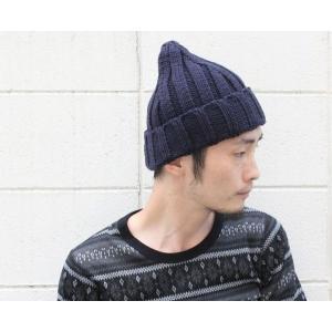ニット帽 メンズ 冬 大きい スノボ とんがり リブ編み 帽子 レディース グレー 白 黒 秋 秋冬|protocol|02