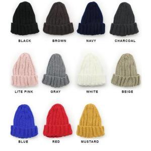ニット帽 メンズ 冬 大きい スノボ とんがり リブ編み 帽子 レディース グレー 白 黒 秋 秋冬|protocol|05