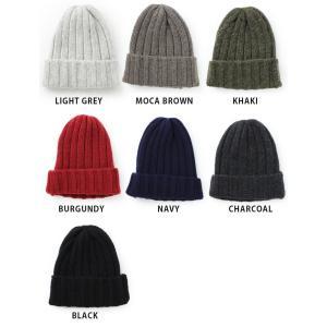 ニット帽 メンズ 冬 秋 帽子 レディース 帽子 ウール混 リブ ワッチキャップ 秋冬|protocol|06