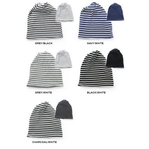 ニット帽 メンズ 冬 大きい 帽子 レディース ネックウォーマー ワッフル リバーシブル ボーダー ワッチキャップ 秋 秋冬|protocol|06