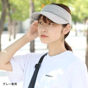 サンバイザー レディース おしゃれ 帽子 uv 大きい つば広 メンズ スウェット ゴルフ テニス 送料無料 一部予約販売開始|protocol|09