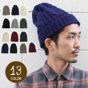 ニット帽 メンズ 冬 大きい マルチ ケーブル編み 帽子 ニットキャップ 黒 白 レディース スノボ 秋冬|protocol