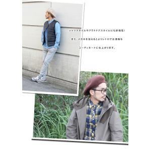 ベレー帽 メンズ ミリタリー 大きいサイズ 帽子 ウール ベレー ニット帽 レディース|protocol|05