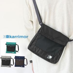 サコッシュ 登山 ブランド メンズ サコッシュバッグ カリマー karrimor  trek carry sacoche レディース|protocol