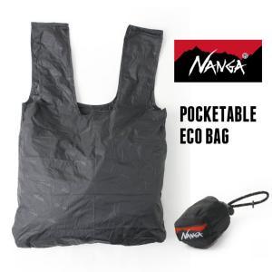 エコバッグ ナンガ NANGA NANGA POCKETABLE ECOBAG ポケッタブル ショッピングバッグ 国内正規品 アウトドア|protocol