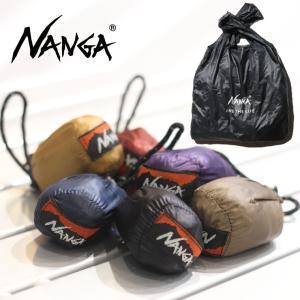 アウトドアブランド トートバック ナンガ エコバッグ トートバック NANGA ポケッタブルエコバック キャンプ 服装 女子|protocol