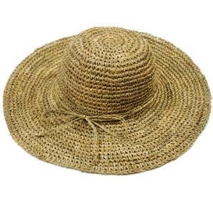 帽子 レディース UV エレガント 麦わら帽子 大きいサイズ ブランド NEW YORK HAT ニューヨークハット  SEA GRASS|protocol