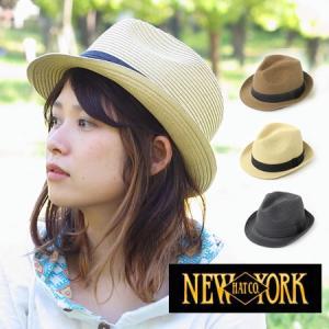 メンズハット夏 麦わら帽子 ブランド メンズ 帽子 ニューヨークハット レディース|protocol