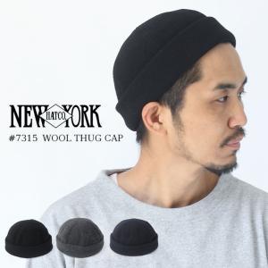 帽子 メンズ 40代 ニット帽 ブランド ニューヨークハット ロールキャップ  ロールワッチ NEW YORK HAT #7915夏|protocol