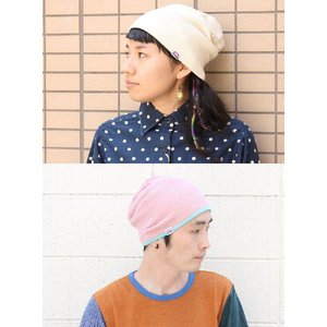 ニット帽 夏 メンズ 日本製 帽子 レディース プレミアム リバーシブル ワッフル ワッチキャップ フェス キャンプ|protocol|04