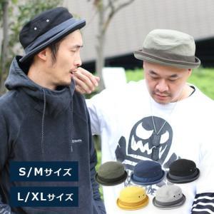 帽子 メンズ ハット メンズ 折り畳み ポークパイハット 帽子 62cm スウェット ポークパイ ビッグ レディース / 送料無料 protocol