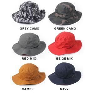 キャンプ 帽子 レディース 撥水 帽子 メンズ  レインハット サファリハット 大きめ フェス アウトドア 大きいサイズ 送料無料|protocol|03