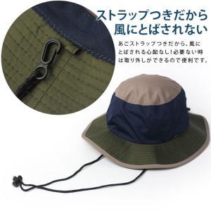 キャンプ 帽子 レディース 撥水 帽子 メンズ  レインハット サファリハット 大きめ フェス アウトドア 大きいサイズ 送料無料|protocol|07