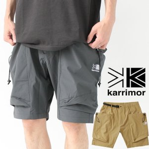 ショートパンツ カーゴ 無地 カリマー メンズ karrimor rigg shorts リグショーツ キャンプ パンツ  大きいサイズ クライミングパンツ protocol