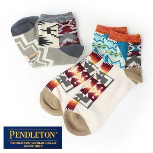 ペンドルトン PENDLETON MULTI PANEL SOCKS / ソックス 靴下 メンズ レディース ネイティブ柄 ショート丈 秋 冬 protocol