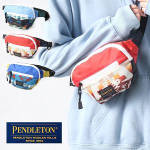 ペンドルトン ショルダーバッグ ウェストポーチ PENDLETON マルチカラー ボディーバッグ / 送料無料|protocol
