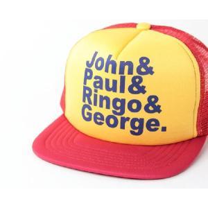 メッシュキャップ ロックプリント JOHN& / メンズ レディース 帽子 / ベースボールキャップ|protocol|02