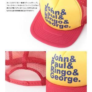 メッシュキャップ ロックプリント JOHN& / メンズ レディース 帽子 / ベースボールキャップ|protocol|03