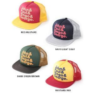 メッシュキャップ ロックプリント JOHN& / メンズ レディース 帽子 / ベースボールキャップ|protocol|04