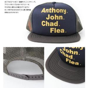 メッシュキャップ ロックプリント ANTHONY. / メンズ レディース 帽子 / ベースボールキャップ|protocol|03