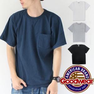 Tシャツ メンズ グッドウェア Tシャツ メンズ ポケット GOODWEAR 7.2oz CREW POCKET T-SHIRTS / 送料無料|protocol