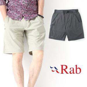 ショートパンツ メンズ 膝上 短め Rab ラブ ATLAS SHORTS QFS-92|protocol