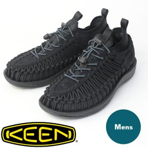 キャンプ サンダル メンズ KEEN uneek HT キーン ユニーク Black/Black フェス アウトドア 靴 ブランド おしゃれ|protocol