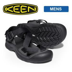 キーン サンダル メンズ KEEN ZERRAPORT 2 ブラック / ブラック 1022418 アウトドア 売れ筋 カジュアル ブランド ビーチ フェス|protocol