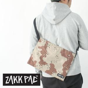 サコッシュ メンズ ザックパック ZAKKPAC SACOCHE CHOCO-CHIP / ショルダーバッグ メンズ / 送料無料|protocol