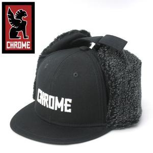 耳あて付きキャップ CHROME クローム EYRE FLAP CAP  イヤー フラップ キャップ キャップ|protocol