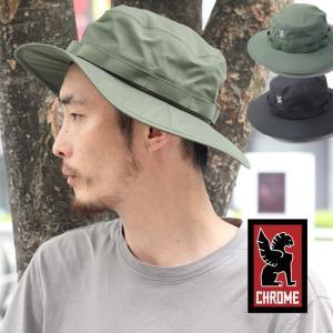 クローム ハット CHROME WP JUNGLE HAT ジャングルハット 防水 ウォータープルーフ ブラック 帽子|protocol
