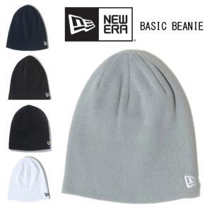 ニット帽 メンズ ブランド アウトドアブランド 帽子 ニューエラ ベーシックビーニー 大きいサイズ レディース 黒 NEW ERA キャンプ protocol
